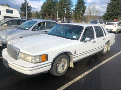 1993 Lincoln Town Car for sale at Blue Line Auto Group in Portland OR