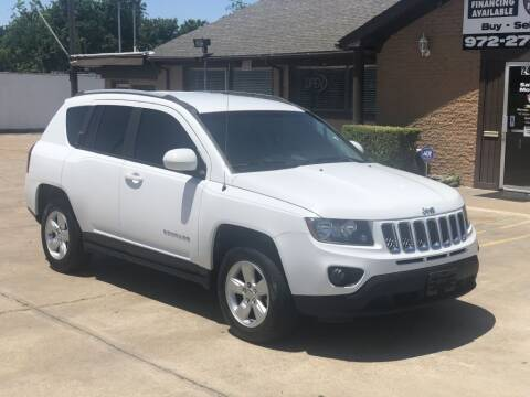 2017 Jeep Compass for sale at Safeen Motors in Garland TX