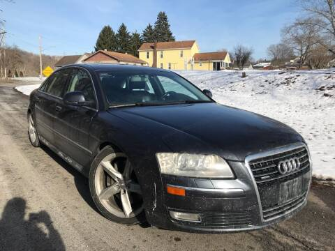 2009 Audi A8 L for sale at Trocci's Auto Sales in West Pittsburg PA