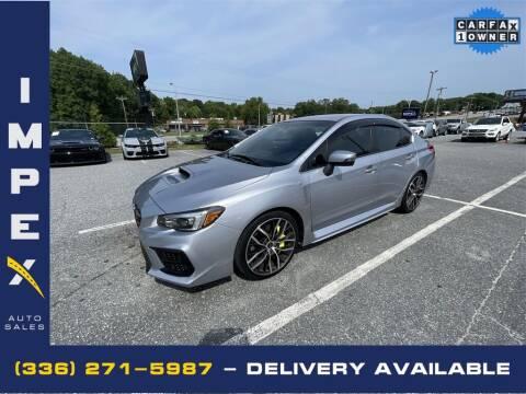 2020 Subaru WRX for sale at Impex Auto Sales in Greensboro NC