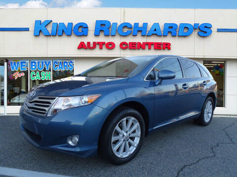 2011 Toyota Venza for sale at KING RICHARDS AUTO CENTER in East Providence RI
