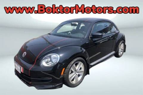 2013 Volkswagen Beetle for sale at Boktor Motors in North Hollywood CA
