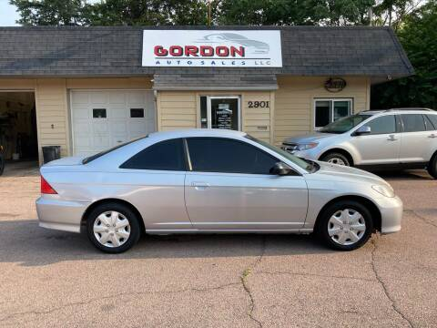 2004 Honda Civic for sale at Gordon Auto Sales LLC in Sioux City IA