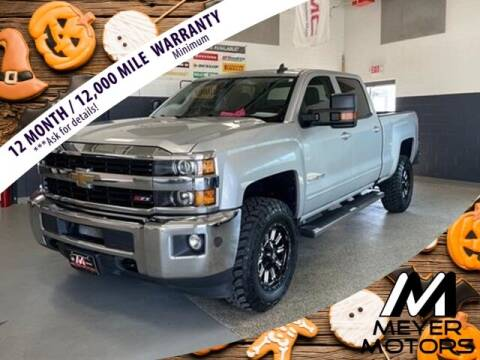 2016 Chevrolet Silverado 2500HD for sale at Meyer Motors in Plymouth WI