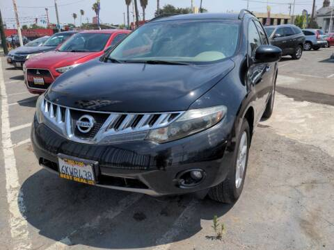 2010 Nissan Murano for sale at Best Deal Auto Sales in Stockton CA