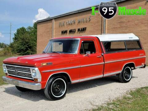 1968 Ford F-100 for sale at I-95 Muscle in Hope Mills NC