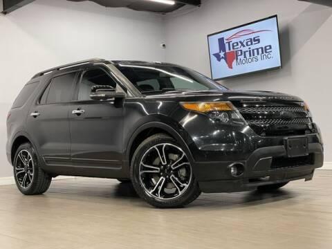 2013 Ford Explorer for sale at Texas Prime Motors in Houston TX