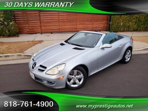 2006 Mercedes-Benz SLK for sale at Prestige Auto Sports Inc in North Hollywood CA