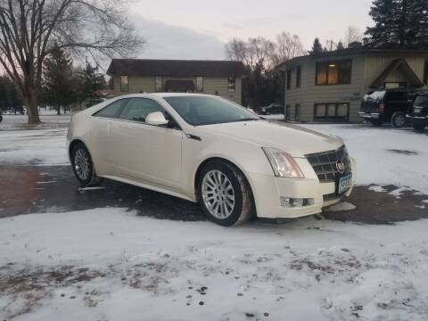 2011 Cadillac CTS for sale at Shores Auto in Lakeland Shores MN