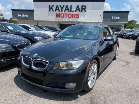 2009 BMW 3 Series for sale at KAYALAR MOTORS in Houston TX
