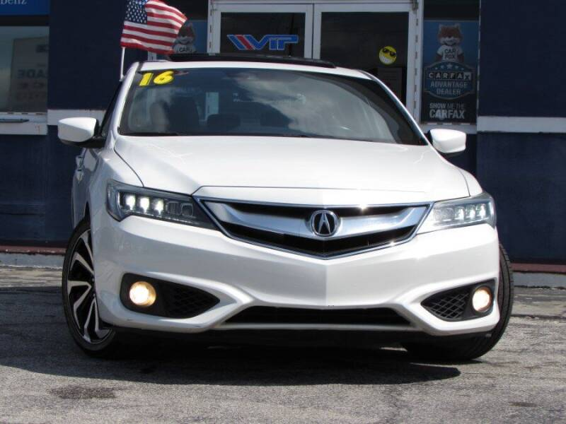 2016 Acura ILX for sale at VIP AUTO ENTERPRISE INC. in Orlando FL