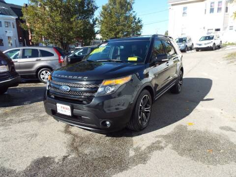 2014 Ford Explorer for sale at FRIAS AUTO SALES LLC in Lawrence MA