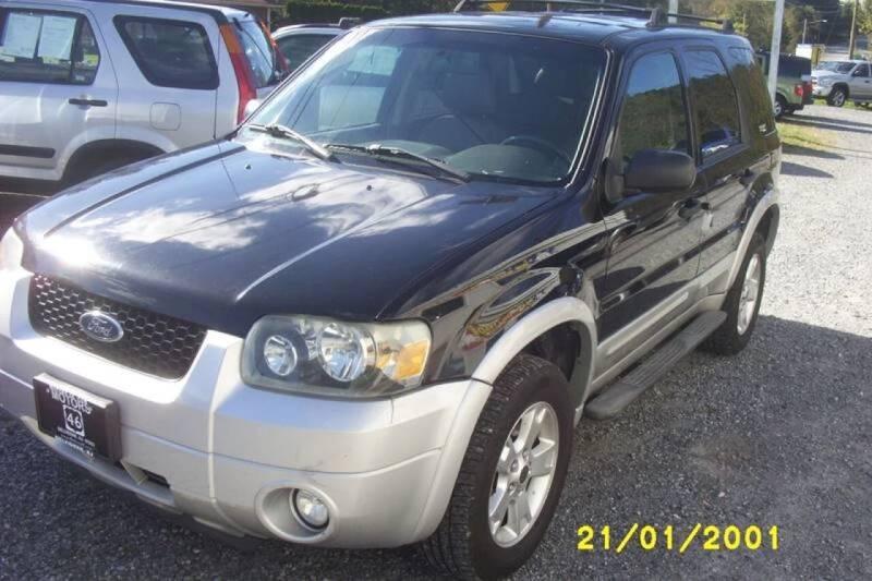 2007 Ford Escape for sale at Motors 46 in Belvidere NJ