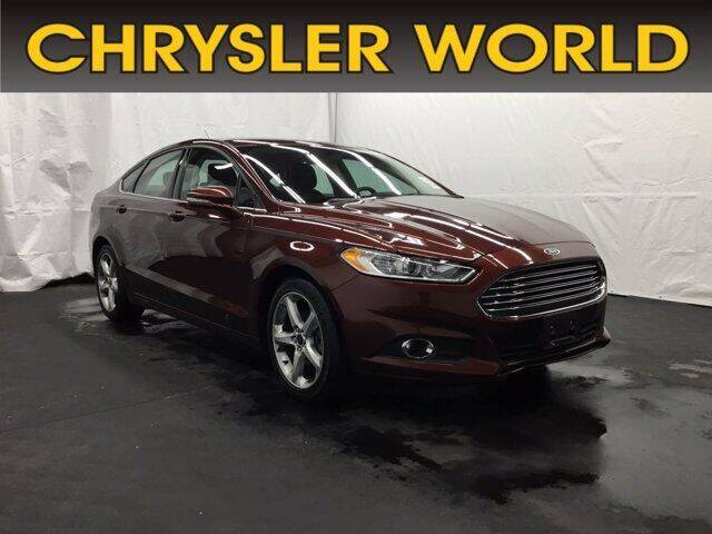 2016 Ford Fusion for sale in Abrams, WI