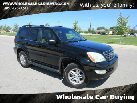 2006 Lexus GX 470 for sale at Wholesale Car Buying in Saginaw MI