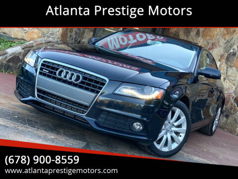 2011 Audi A4 for sale at Atlanta Prestige Motors in Decatur GA