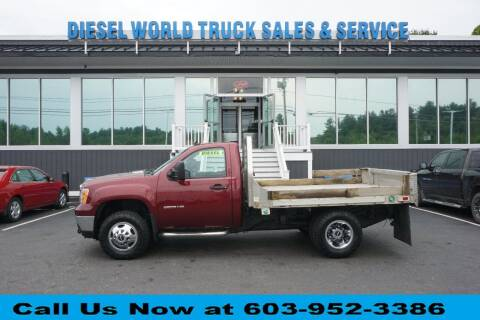 2013 GMC K3500 4X4 SLE ALUM F for sale at Diesel World Truck Sales in Plaistow NH