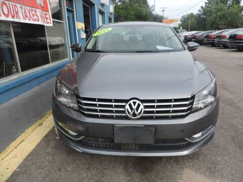 2012 Volkswagen Passat for sale at Drive Auto Sales & Service, LLC. in North Charleston SC