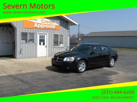 2010 Dodge Avenger for sale at Severn Motors in Cadillac MI