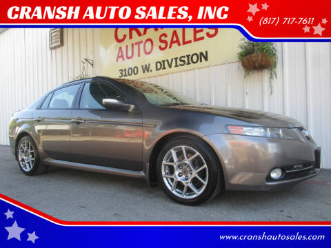 2008 Acura TL for sale at CRANSH AUTO SALES, INC in Arlington TX