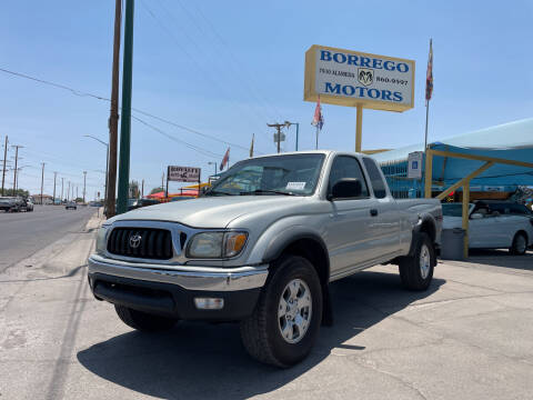 2002 Toyota Tacoma for sale at Borrego Motors in El Paso TX