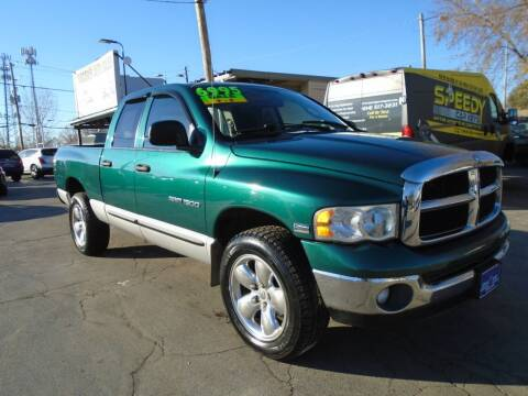 2003 Dodge Ram Pickup 1500 for sale at DISCOVER AUTO SALES in Racine WI