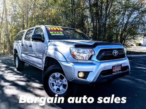 2012 Toyota Tacoma for sale at Bargain Auto Sales LLC in Garden City ID