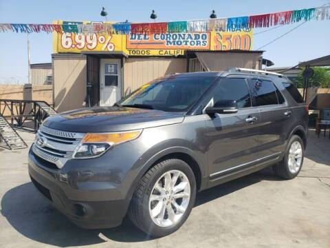 2015 Ford Explorer for sale at DEL CORONADO MOTORS in Phoenix AZ