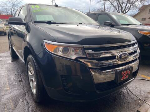 2014 Ford Edge for sale at Zs Auto Sales in Kenosha WI