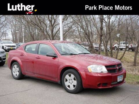 2009 Dodge Avenger for sale at Park Place Motor Cars in Rochester MN