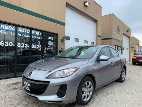 2013 Mazda MAZDA3 for sale at REDA AUTO PORT INC in Villa Park IL