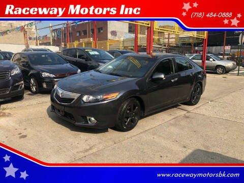 2013 Acura TSX for sale at Raceway Motors Inc in Brooklyn NY