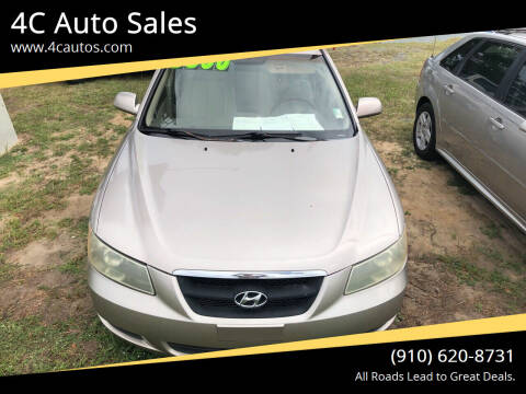 2007 Hyundai Sonata for sale at 4C Auto Sales in Wilmington NC