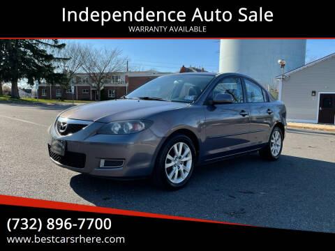2008 Mazda MAZDA3 for sale at Independence Auto Sale in Bordentown NJ