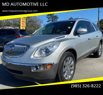 2012 Buick Enclave for sale at MD AUTOMOTIVE LLC in Slidell LA