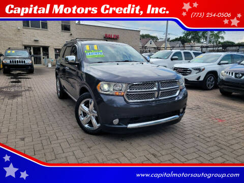 2011 Dodge Durango for sale at Capital Motors Credit, Inc. in Chicago IL