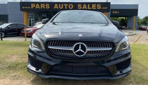 2016 Mercedes-Benz CLA for sale at Pars Auto Sales Inc in Stone Mountain GA