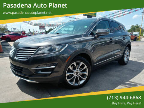 2017 Lincoln MKC for sale at Pasadena Auto Planet in Houston TX