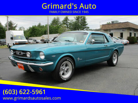 1966 Ford Mustang for sale at Grimard's Auto in Hooksett NH