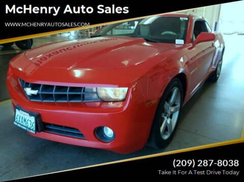 2011 Chevrolet Camaro for sale at McHenry Auto Sales in Modesto CA