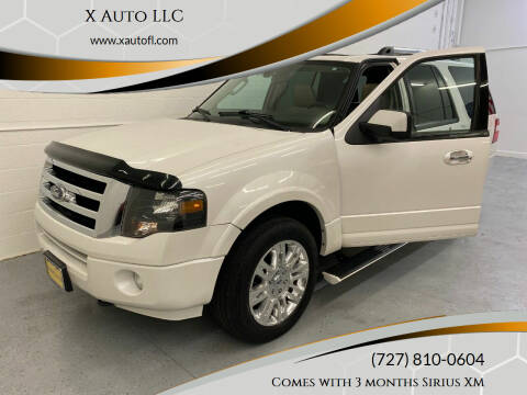 2011 Ford Expedition for sale at X Auto LLC in Pinellas Park FL