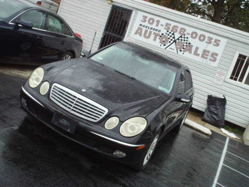 2003 Mercedes-Benz E-Class for sale at Marlboro Auto Sales in Capitol Heights MD