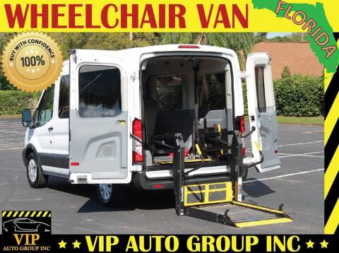 2015 Ford Transit Passenger for sale at VIP Auto Group in Clearwater FL