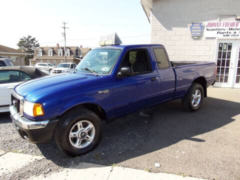 2004 Ford Ranger for sale at Fulmer Auto Cycle Sales - Fulmer Auto Sales in Easton PA