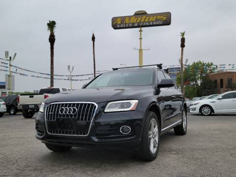 2016 Audi Q5 for sale at A MOTORS SALES AND FINANCE in San Antonio TX
