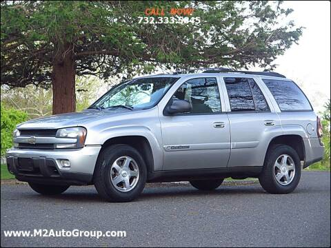 2004 Chevrolet TrailBlazer for sale at M2 Auto Group Llc. EAST BRUNSWICK in East Brunswick NJ