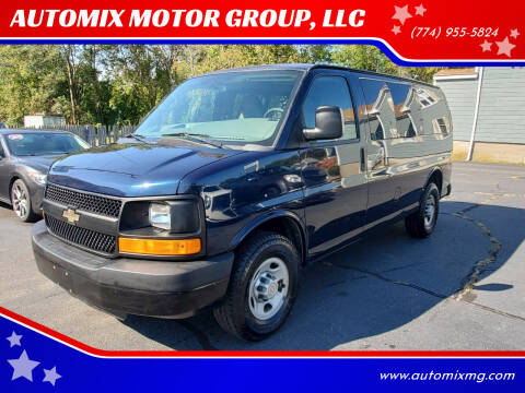 2012 Chevrolet Express Passenger for sale at AUTOMIX MOTOR GROUP, LLC in Swansea MA
