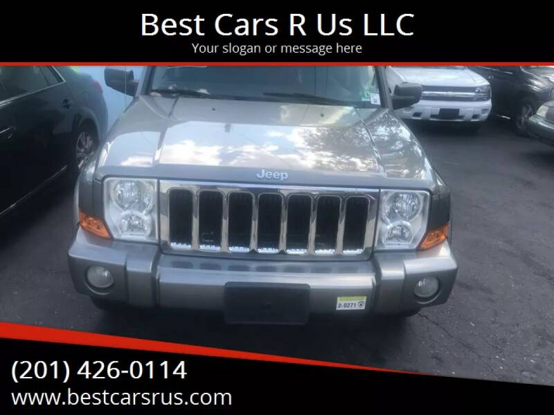 2008 Jeep Commander for sale at Best Cars R Us LLC in Irvington NJ