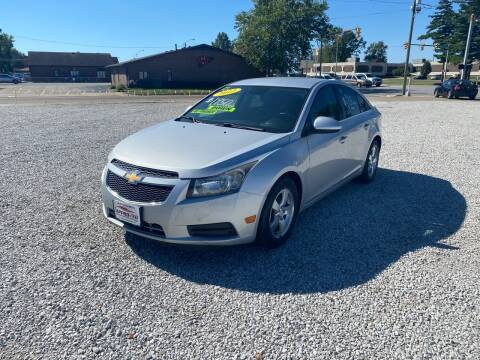 2012 Chevrolet Cruze for sale at Approved Automotive Group in Terre Haute IN