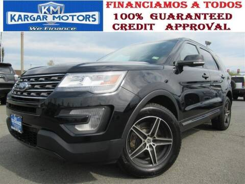 2017 Ford Explorer for sale at Kargar Motors of Manassas in Manassas VA